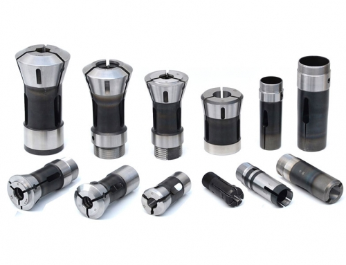 Collet for multisplindle lathes